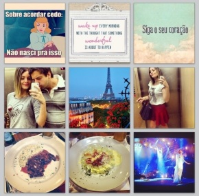 Minha Semana Instagram:@blogdaalesera