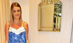 Meu Look: Vestido Azul para WorldCompany