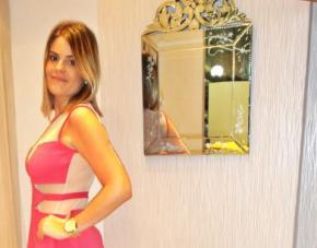Meu Look: Vestido Pink com Transparência para WorldCompany