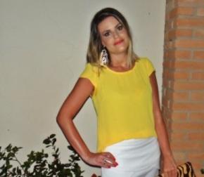 Meu Look: Amarelo e Branco para o AnoNovo