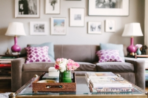 Decor: Interior da Blogueira Nicole Gibbons