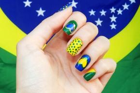 Nails: Brasil do nossocoração
