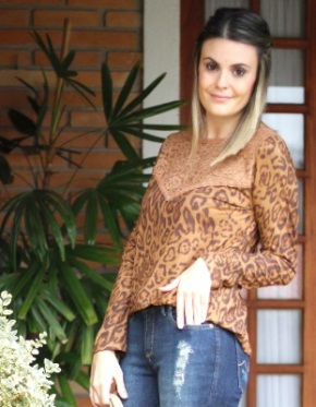 Meu Look: Winter Animal Print